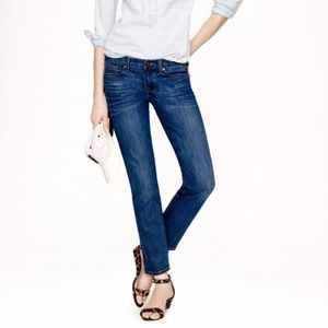 Women's Size 25 J. Crew Cropped Matchstick Jeans